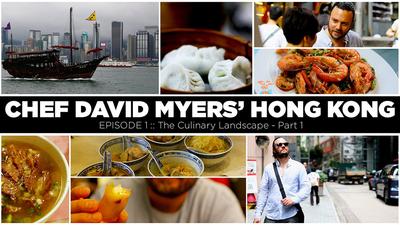 Chef David Myers' Hong Kong
