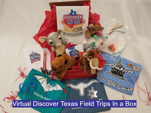 Virtual Discover Texas Field Trips In a Box