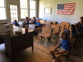 Old West Schoolhouse