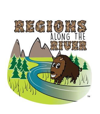 Regions along the River Logo