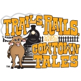 Trails, Rails, and Cowtown Tales for DTFT footers, 160x160.png