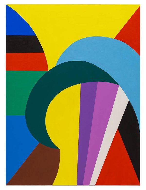 Easy Curves No. 1, original oil on canvas, 30_x40_ 2014, Erwin Meyer Studio, LLC.jpg