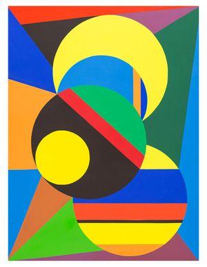 Orbiting Circles No. 1, oil on canvas, 36_x48_ 2015 Erwin Meyer Studio LLC.jpg
