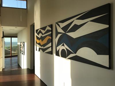 Racae Meyer - 5930 Bold Ruler Way - 6 Hallway - B&W+C 1,2,3 - good with windows late afternoon.jpg
