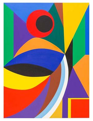 Composition No. 3., original oil on canvas, 36_x48_ 2015, Erwin Meyer Studio, LLC_1.jpg