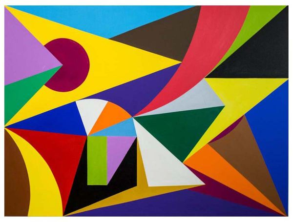 Composition No. 8, original oil on canvas- 2017, Erwin Meyer Studio, LLC.jpg
