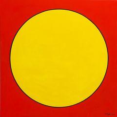 Racae-Meyer---Yellow,-original-oil-on-canvas,-36-x36--2013,-Erwin-Meyer-Studio.jpg