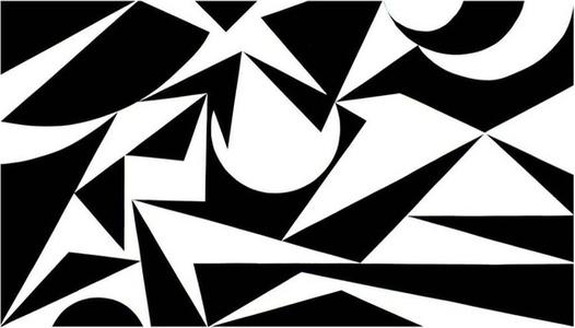 Racae Meyer - Black & White No. 2, original oil on canvas, 40'x70', 2016, Erwin Meyer Studio, LLC.jpg