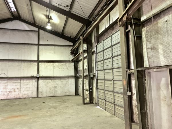 6601 Shirley Warehouse - rolling garage door.jpg
