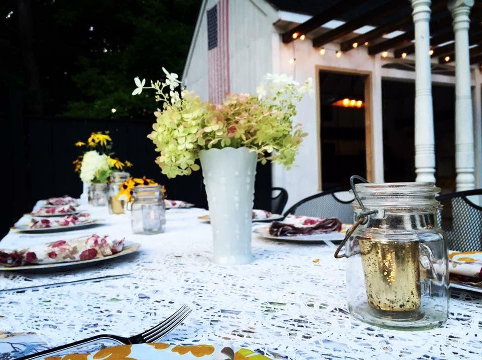 Farmhouse Table Design for Summer