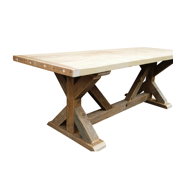 The Girder Trestle Table