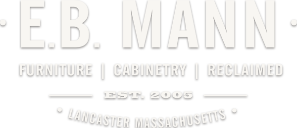 E. B. Mann reclaimed furniture logo