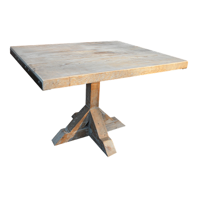 The Girder Pedestal Table