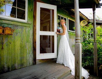 Wedding photography at Haiku Mill, Maui