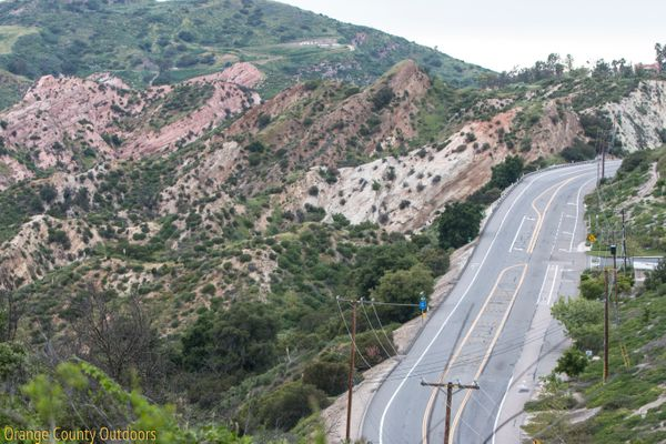 Santiago Canyon Road