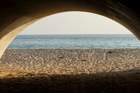 Crystal Cove Tunnel