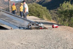 Santiago Canyon crash