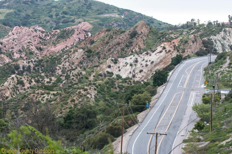Santiago Canyon Road