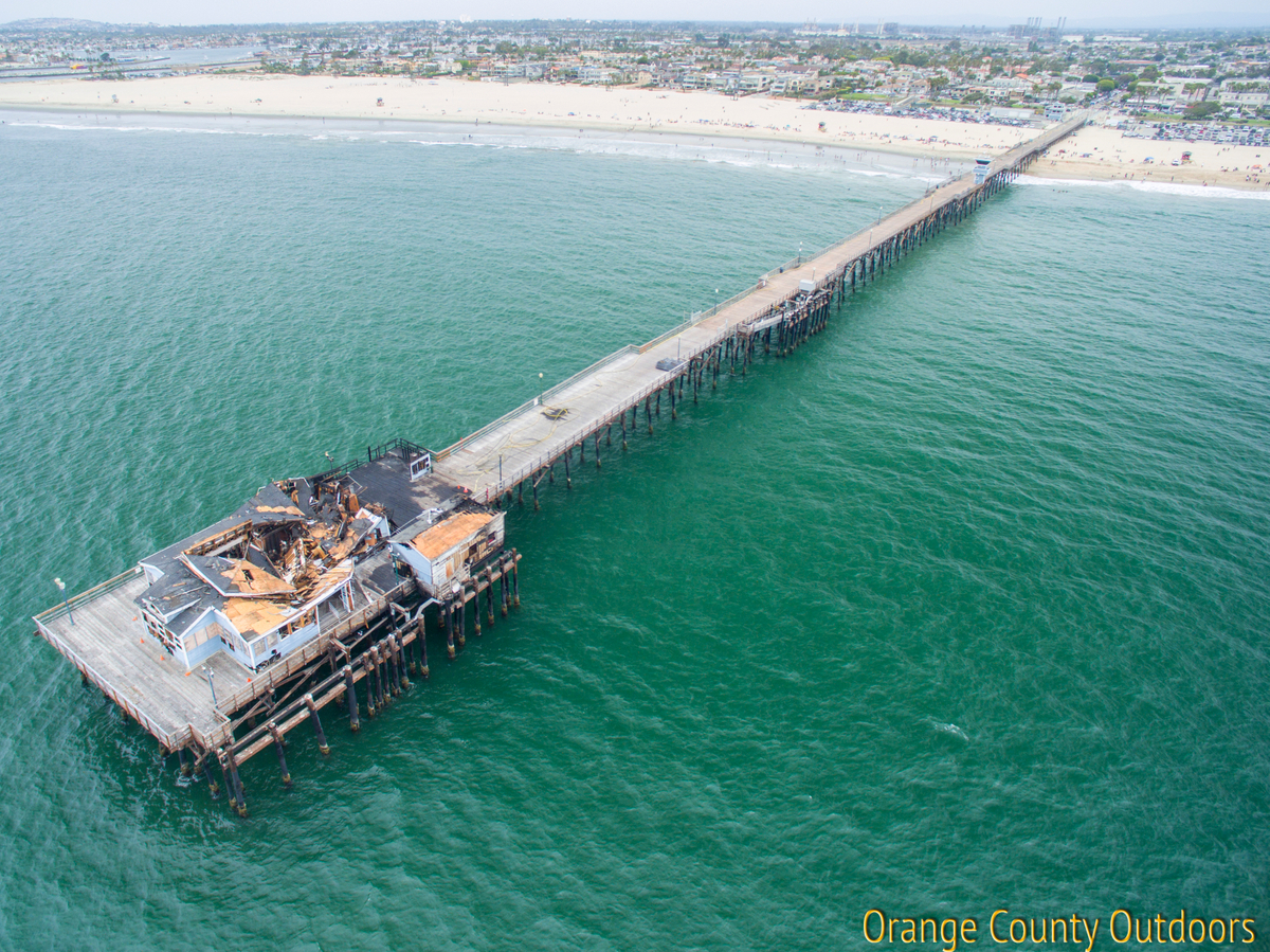 Seal Beach Pier Fire
