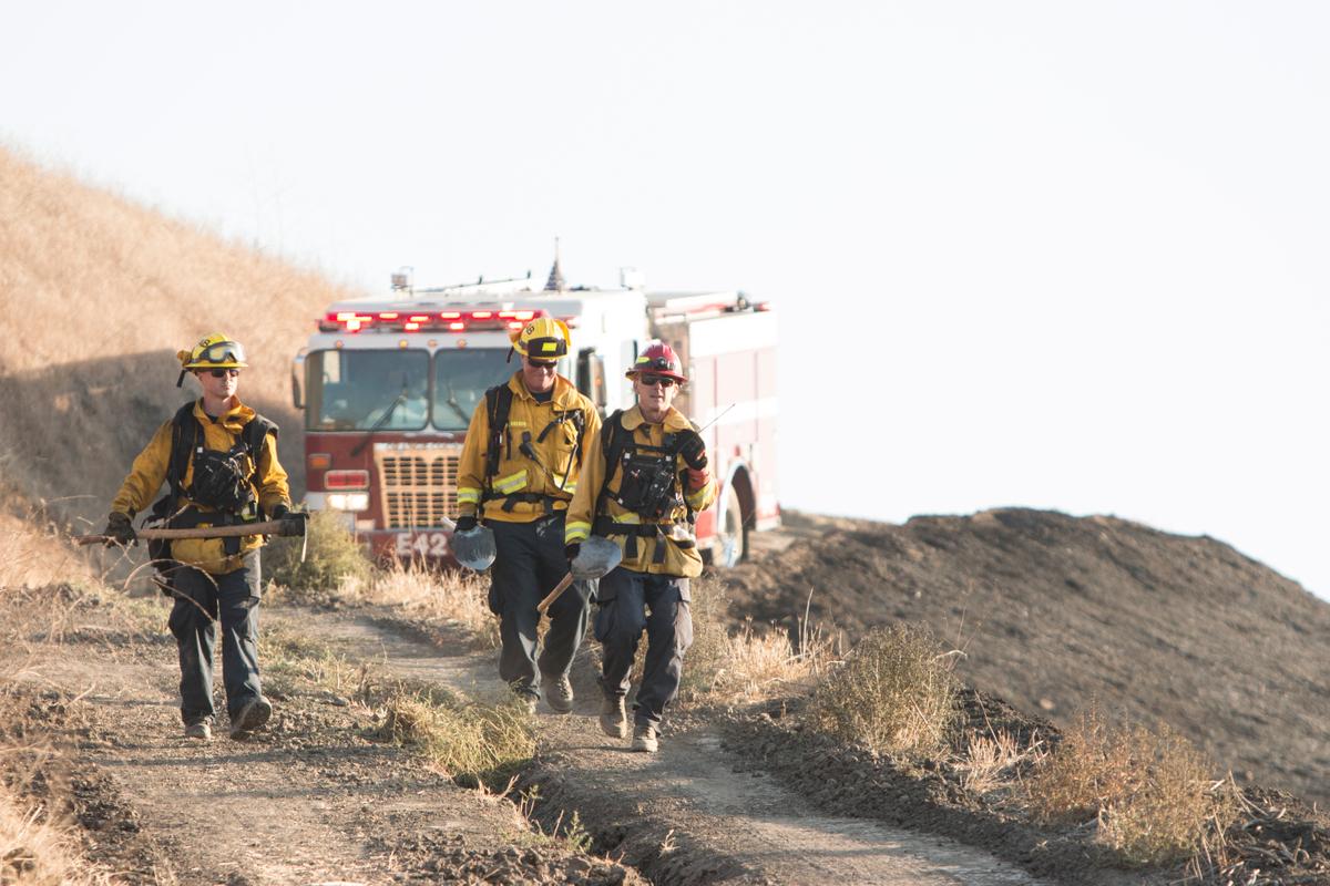 Arroyo Trabuco Fire