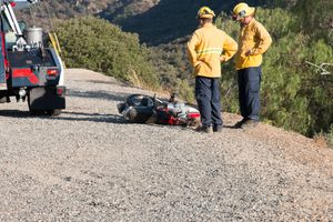 Santiago Canyon crash
