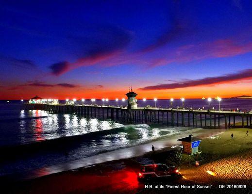 Sunset by Drone Eddie