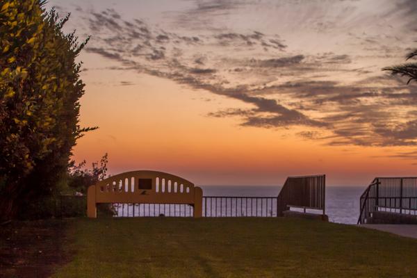 Leslie Park sunset