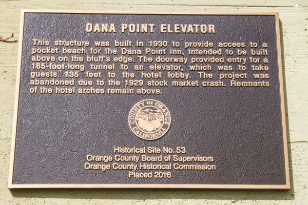 Dana Point Elevator