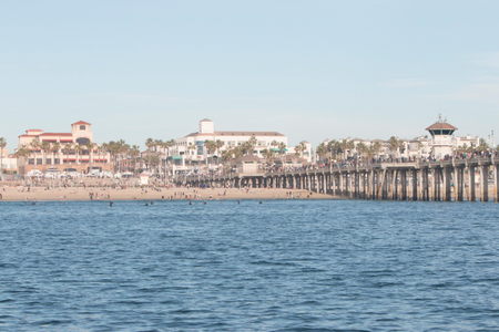 Huntington Beach Pier Northside
