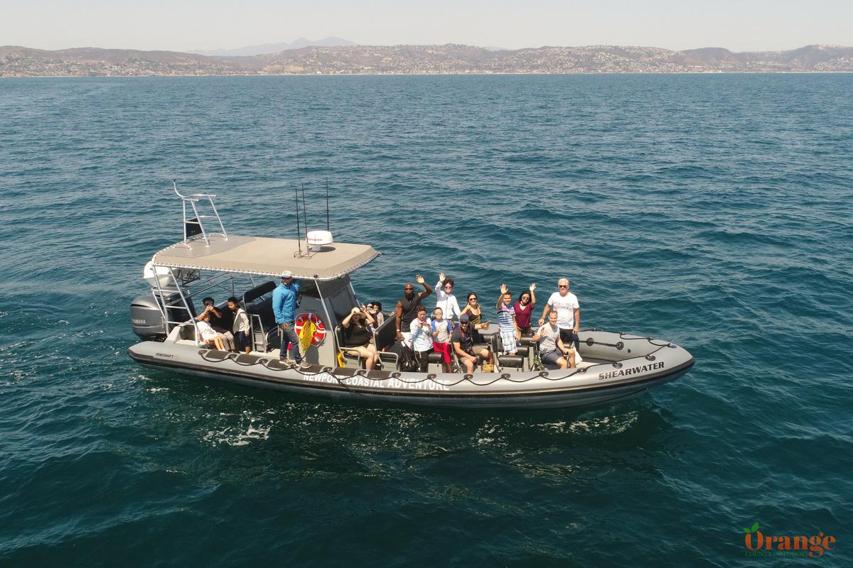 Newport Coastal Adventure boat