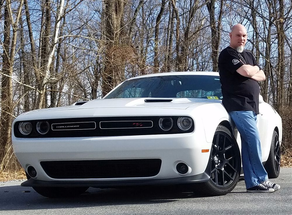 Nothing speeds up recovery better than a 2015 Challenger R/T Scat Pack