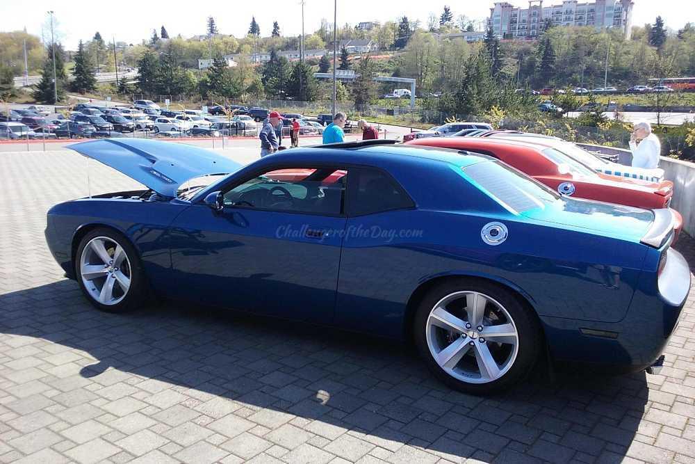 James Swift's 2009 Dodge Challenger R/T Deep Water Blue Pearl Metallic