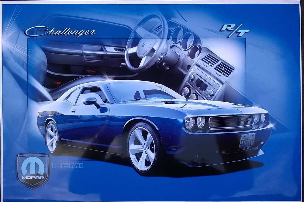 James Swift's 2009 Dodge Challenger R/T Deep Water Blue Pearl Metallic