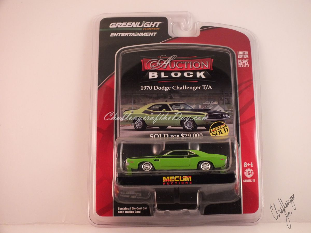 Johnny Lightning Green 340 Six Pack - Original Package
