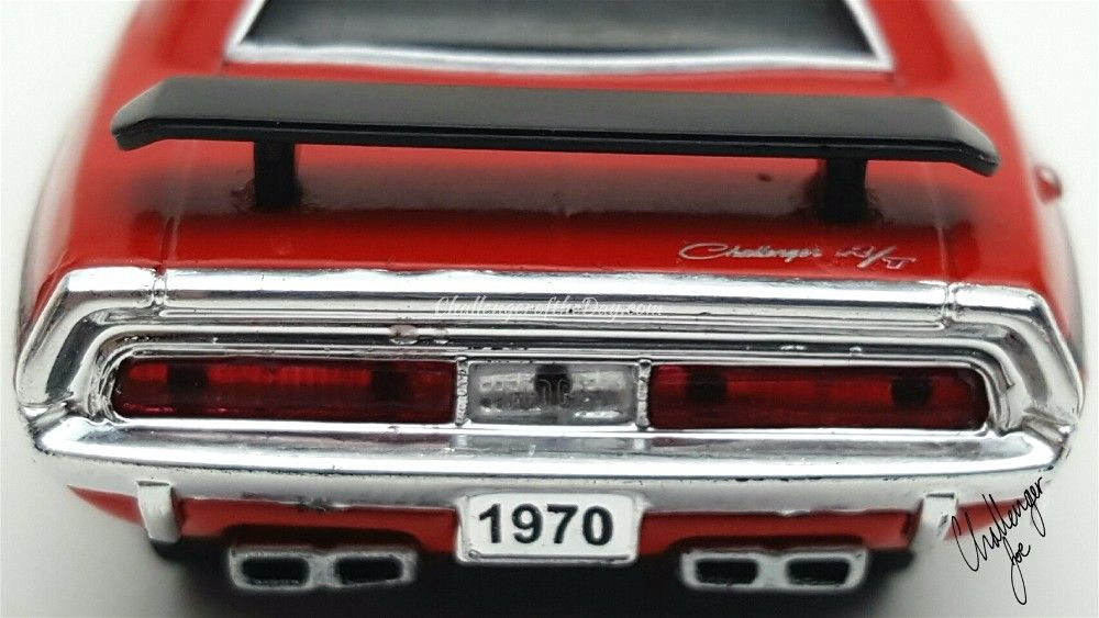 M2 Ground Pounders 1970 Dodge Challenger R/T Rear View