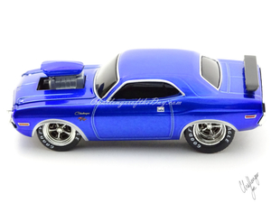 M2 by Castline Ground Pounders 1970 Dodge Challenger Blue (6).JPG