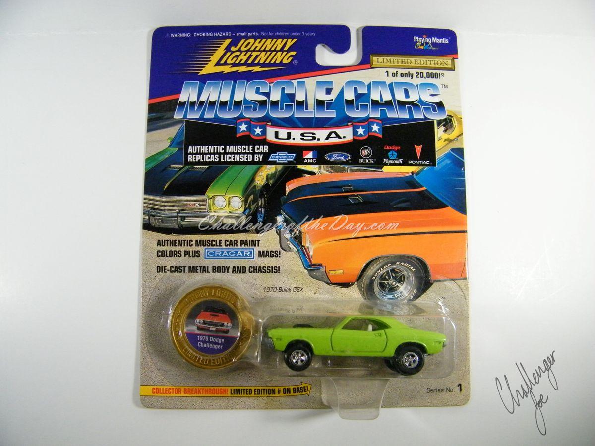 1970 Sublime Green Challenger - PkgFV