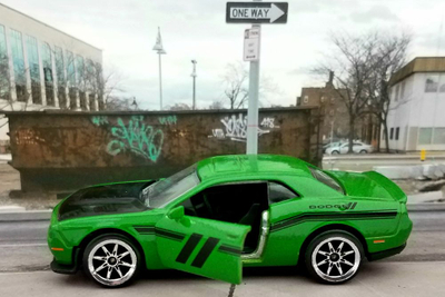 Majorette Dodge Challenger SRT Hellcat