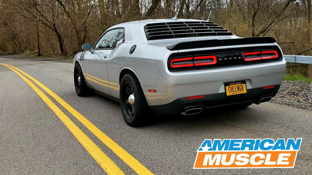 AmericanMuscleChallenger Review MP Concepts Rear Louvers