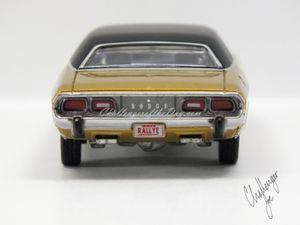 Auto World 1973 Dodge Challenger Rallye Gold (4).JPG