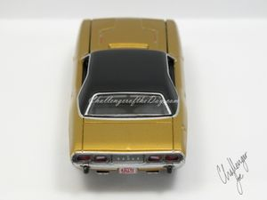 Auto World 1973 Dodge Challenger Rallye Gold (5).JPG