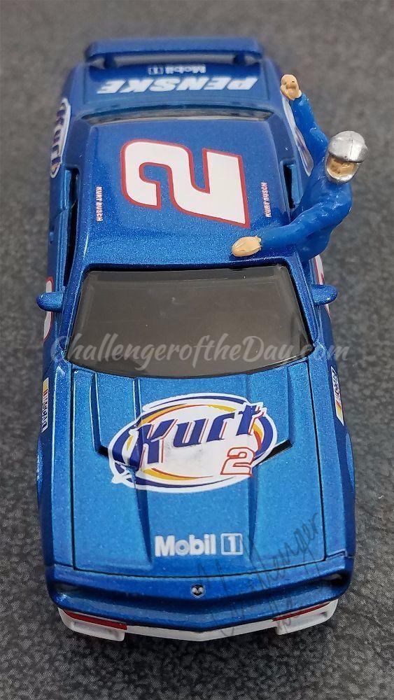 Kurt Busch Dodge Challenger Tribute