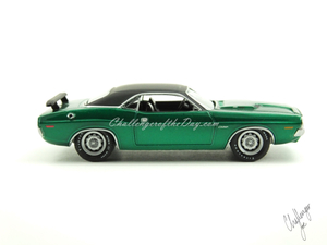1971 RT 426 Hemi GreenLight Hot Putsuit Series Green Machine (2).JPG