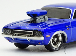 M2 by Castline Ground Pounders 1970 Dodge Challenger Blue (5).JPG