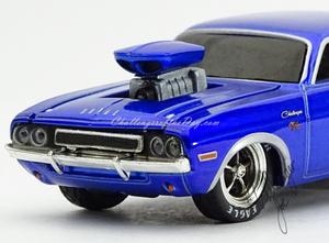 M2 by Castline Ground Pounders 1970 Dodge Challenger Blue (5).JPG