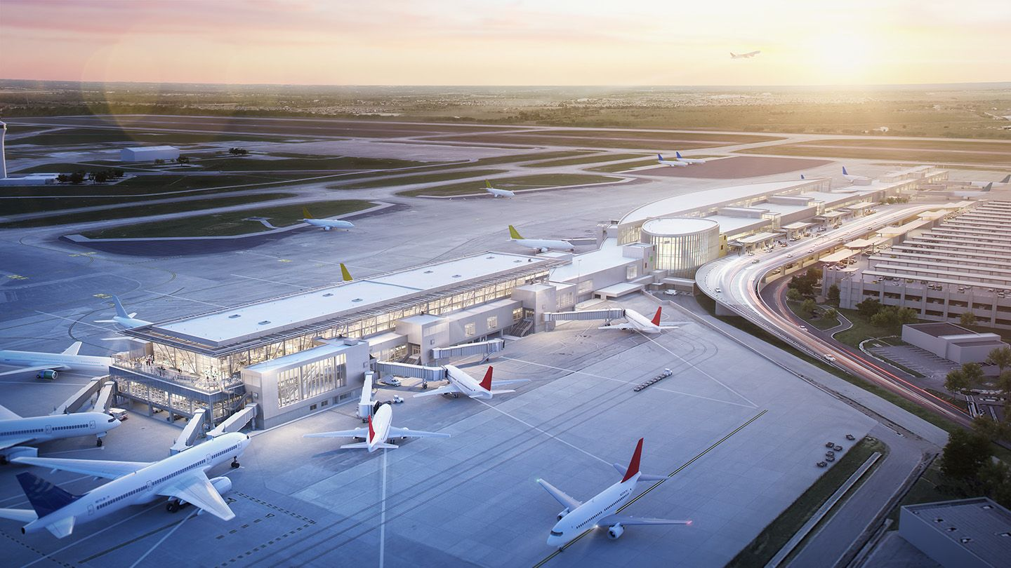 On the Boards -Terminal Gate Expansion
