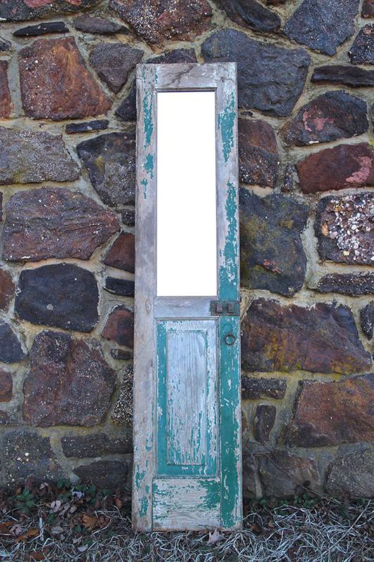 Mirrored Pantry Door
