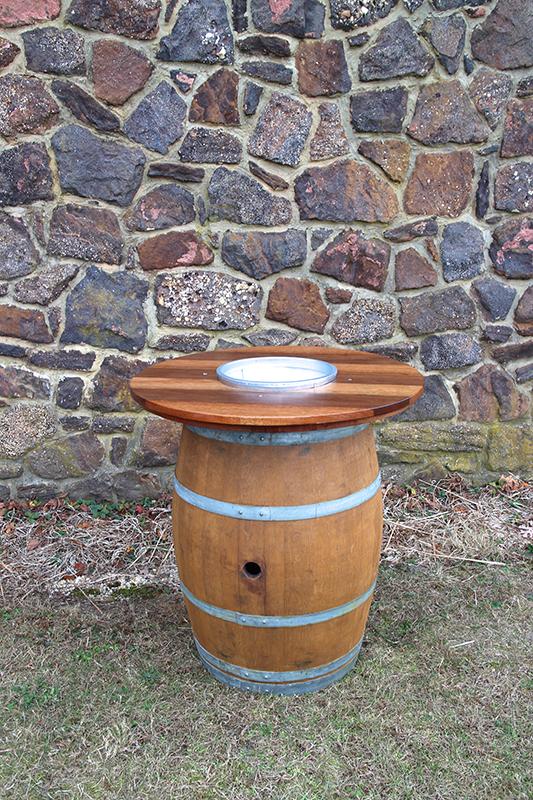 Wine Barrel High Top Tables