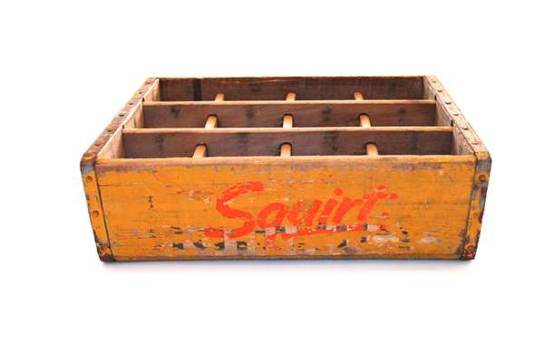 Squirt Wooden Crate