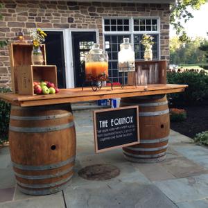 Wine Barrel Rentals Rustic Drift